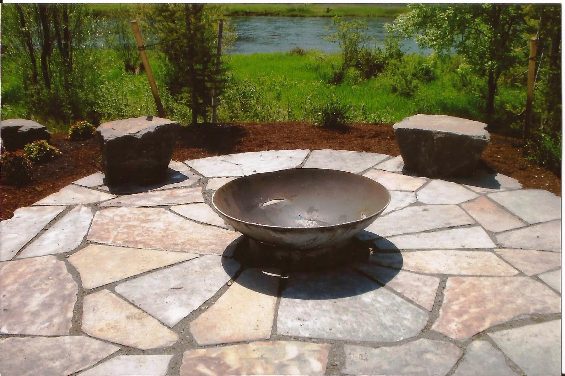 Maximize your summer landscape with patios - Paver designs for backyard ...