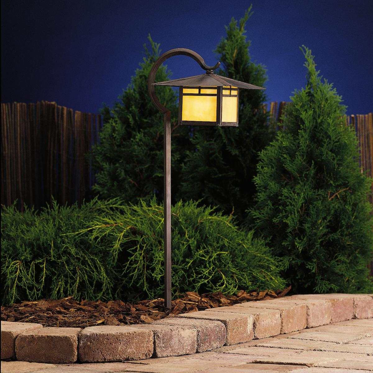 Low voltage landscape lighting for safety & beauty