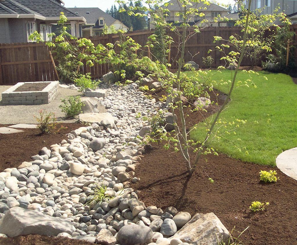Catch Basin Landscape Design