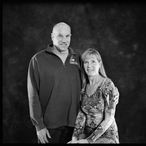 Steve and Tina Pash of Frontier Landscaping